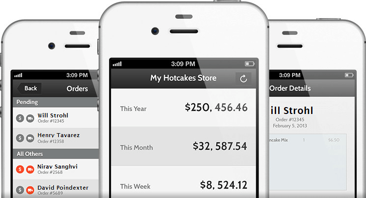 Hotcakes Commerce iPhone App